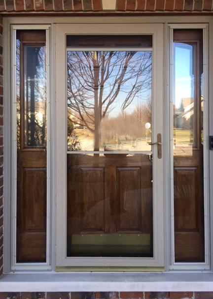 Advanced Windows And Siding Storm Door