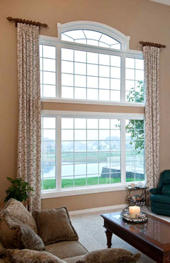 Advanced Windows & Siding Specialty Windows